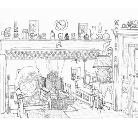 Le salon en Auvergne