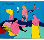 Femmes au bain, d'après Vallotton
