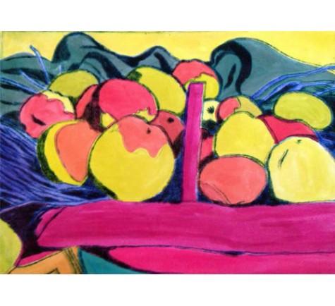 D'après une nature morte aux pommes de Vallotton 2